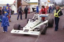 Williams FW06 Lella Lombardi's Car.Mallory Park Aurora AFX 1979